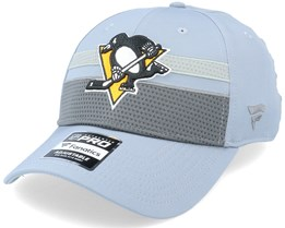 Pittsburgh Penguins Authentic Pro Home Ice Grey Adjustable - Fanatics