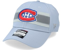 Montreal Canadiens Authentic Pro Home Ice Grey Adjustable - Fanatics