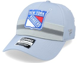 New York Rangers Authentic Pro Home Ice Grey Adjustable - Fanatics