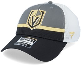 Vegas Golden Knights Authentic Pro Draft Grey/White Trucker - Fanatics