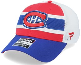 Montreal Canadiens Authentic Pro Draft Red/White Trucker - Fanatics