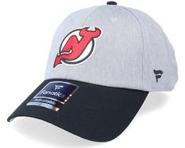 New Jersey Devils Grey Marl Unstructured Sports Grey/Black Dad Cap - Fanatics