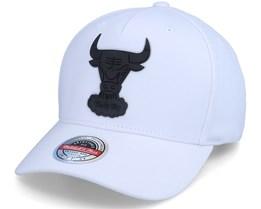 Chicago Bulls Casper Stretch Hwc White Adjustable - Mitchell & Ness