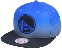 Golden State Warriors Color Fade Blue/Black Snapback - Mitchell & Ness