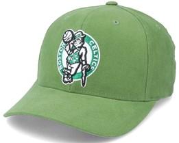 Boston Celtics Exclu Cardinal Dark Green Adjustable - Mitchell & Ness