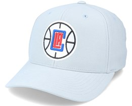 LA Clippers Cardinal Grey Adjustable - Mitchell & Ness