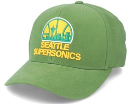 Seattle Supersonics Cardinal Green Adjustable - Mitchell & Ness