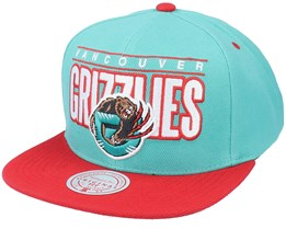 Vancouver Grizzlies Billboard Classic Hwc Teal Snapback - Mitchell & Ness