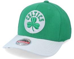 Boston Celtics Spot Lights Stretch Green/Grey Adjustable - Mitchell & Ness