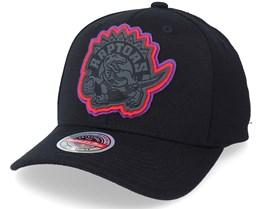 Toronto Raptors Levels Black Adjustable - Mitchell & Ness