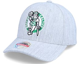 Boston Celtics Team Heather Grey Adjustable - Mitchell & Ness