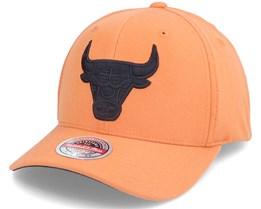 Chicago Bulls Cast Dark Orange Adjustable - Mitchell & Ness