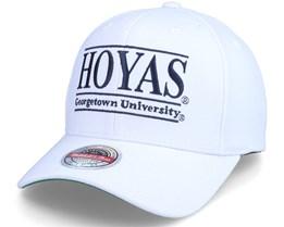 Georgetown Hoyas Georgetown U. Allumni White Adjustable - Mitchell & Ness