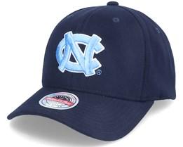 U. Of North Carolina NCAA Logo Navy Adjustable - Mitchell & Ness