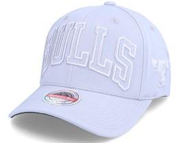 Chicago Bulls Cool Grey Adjustable - Mitchell & Ness