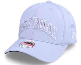 New York Knicks Cool Grey Adjustable - Mitchell & Ness