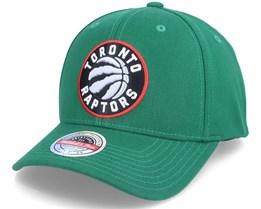 Toronto Raptors Saint Kelly Green Adjustable - Mitchell & Ness