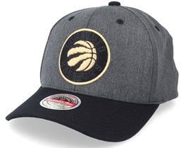 Toronto Raptors Process Snapback Dark Grey Heather - Mitchell & Ness