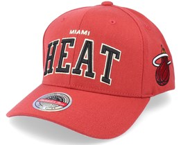 Miami Heat The Champ Cardinal Adjustable - Mitchell & Ness