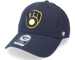 Milwaukee Brewers Mvp Navy Adjustable - 47 Brand