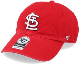 St. Louis Cardinals Clean Up Red/White Adjustable - 47 Brand