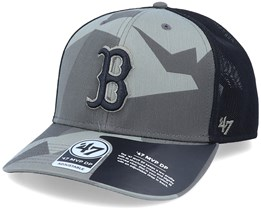 Boston Red Sox Mvp DP Countershade Sandalwood Camo/Black Trucker - 47 Brand