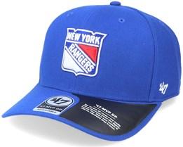 New York Rangers Cold Zone Mvp DP Royal Adjustable - 47 Brand