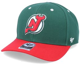 New Jersey Devils Cold Zone Mvp DP Replica Dark Green/Red Adjustable - 47 Brand