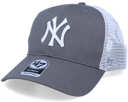 New York Yankees Flagship Mvp Dark Grey/White Trucker - 47 Brand