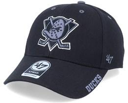 Anaheim Ducks Mvp Defrost Black/Grey Adjustable - 47 Brand