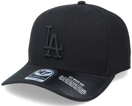Los Angeles Dodgers Cold Zone Mvp DP Black Adjustable - 47 Brand