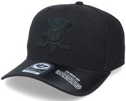 Anaheim Ducks Cold Zone Mvp DP Black/Black Adjustable - 47 Brand