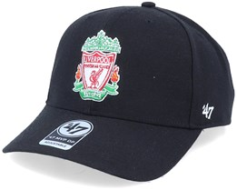 Hatstore Exclusive Liverpool FC Crest Black DP Adjustable - 47 Brand