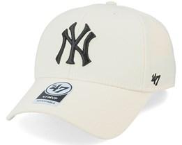 New York Yankees Mvp Natural/Black Adjustable - 47 Brand