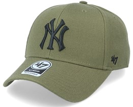 New York Yankees Mvp Snapback Forest Green/Black Adjustable - 47 Brand
