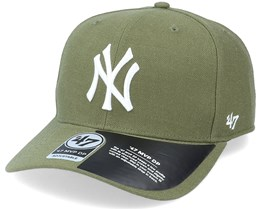 New York Yankees Cold Zone Mvp DP Sandalwood Green/White Adjustable - 47 Brand