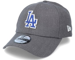 Los Angeles Dodgers 9Forty Twill Heather Graphite Adjustable - New Era