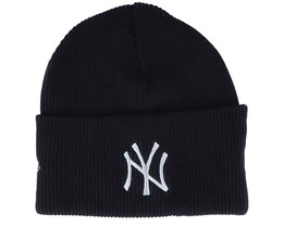 New York Yankees Wordmark Knit Black Cuff - New Era