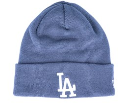 Los Angeles Dodgers Womens League Essential Knit Sky Cuff - New Era