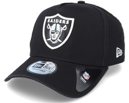 Las Vegas Raiders Team Washed A-Frame Black Adjustable - New Era
