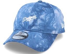 Los Angeles Dodgers Tie Dye 9Twenty Dry Blue Adjustable - New Era