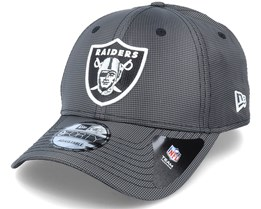 Las Vegas Raiders Team Ripstop 9Forty Grey Adjustable - New Era