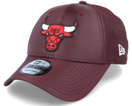 Chicago Bulls Team Ripstop 9Forty Dark Red Adjustable - New Era