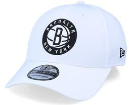 Brooklyn Nets Dashback 39Thirty White/Black Flexfit - New Era