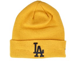 Los Angeles Dodgers League Essential Knit Yellow Cuff - New Era