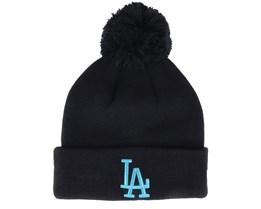 Los Angeles Dodgers League Essential Bobble Black/Blue Pom - New Era