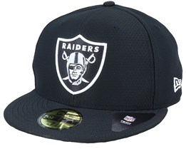 Las Vegas Raiders Hex Tech NFL Black 59FIfty Fitted - New Era