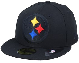 Pittsburgh Steelers Elements 2.0 Black Fitted - New Era