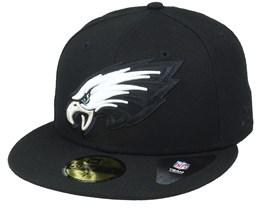 Philadelphia Eagles Elements 2.0 Black/White Fitted - New Era