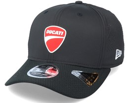 Ducati Performance Badge 9Fifty Stretch Snap Black Adjustable - New Era
